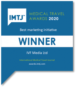 Best Marketing Initiative Winner - MyIVFanswers