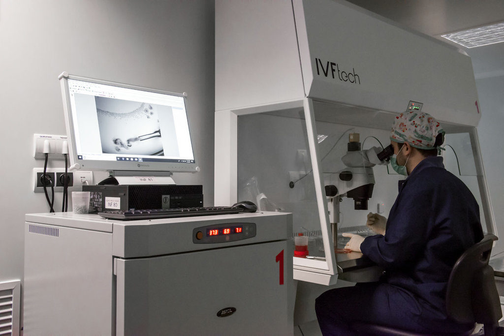 Juana Crespo IVF lab