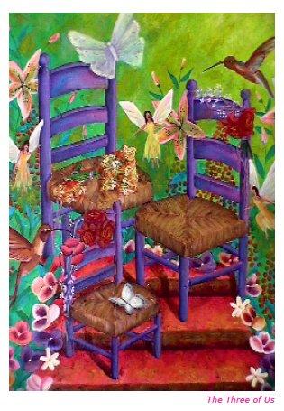 carmen painting chair